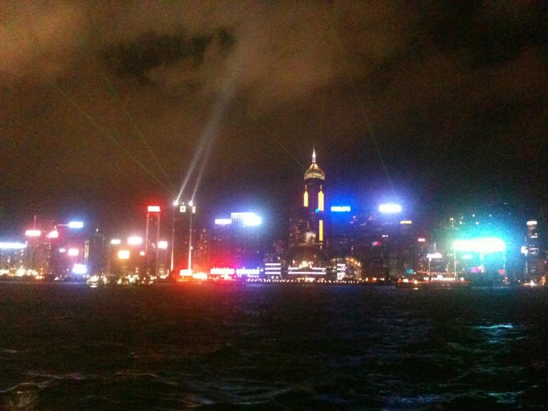 sightseeing i Hong Kong