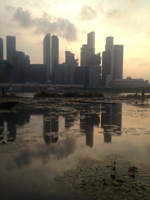 Singapores skyskrapor