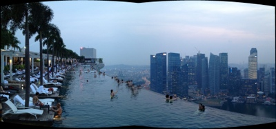 skybarer i Singapore