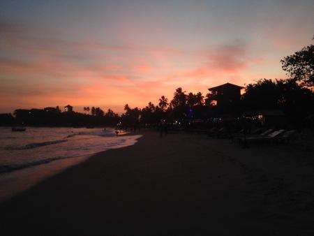 Unawatunas solnedgång
