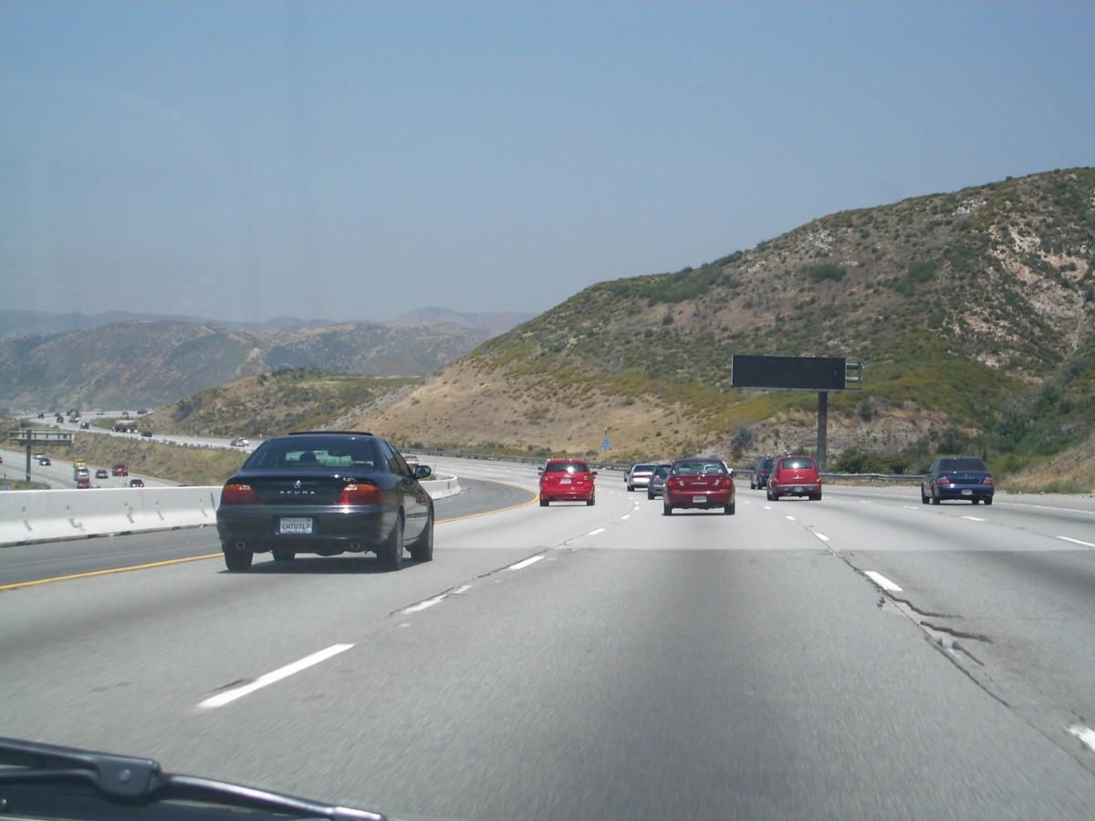 Road Trip längs Highway 1