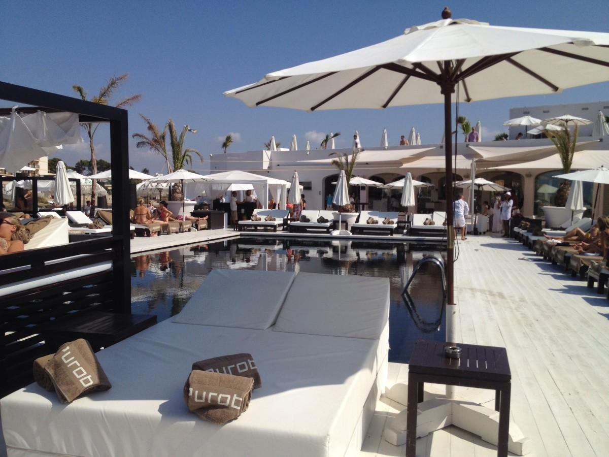 beach club Purobeach I Palma