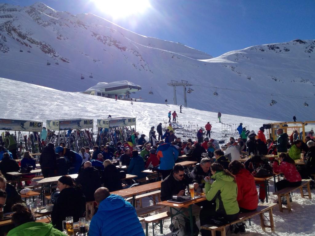 skidorter i österrike