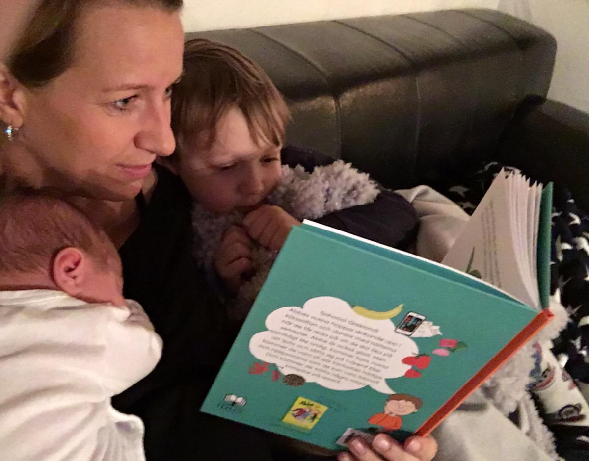 Barnböcker med restema