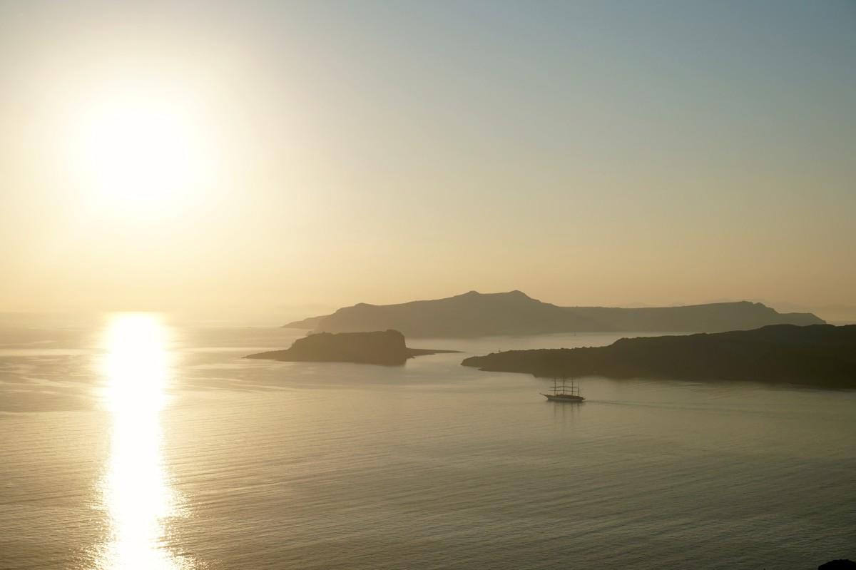guide till Santorini