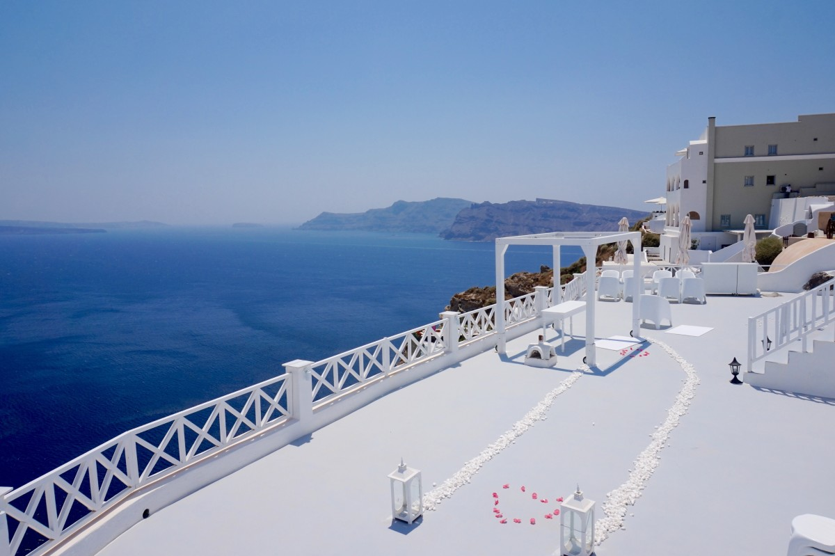 wedding Oia Santorini
