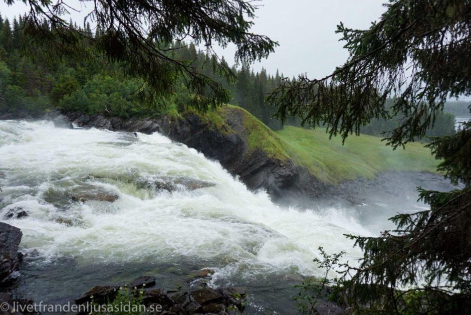 vattenfall i Åre - Tännforsen