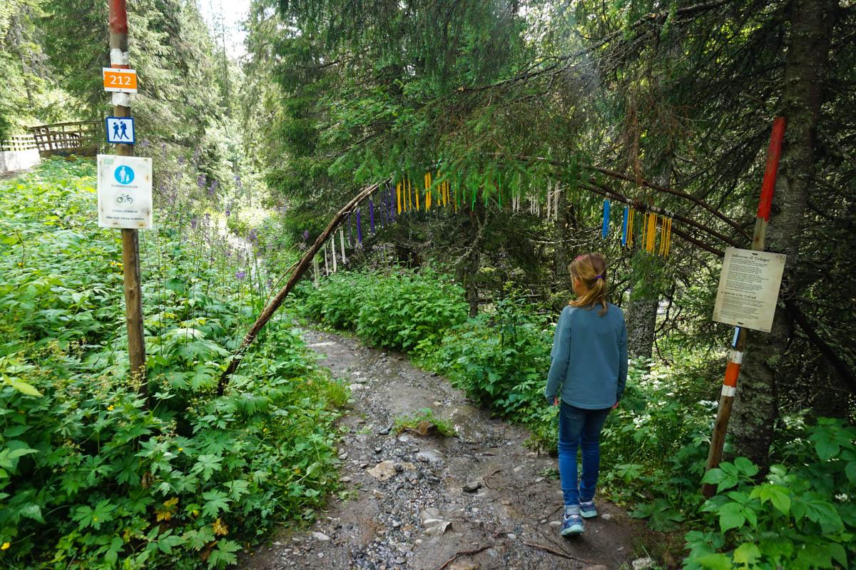 Trollstigen - Åre med barn vandring