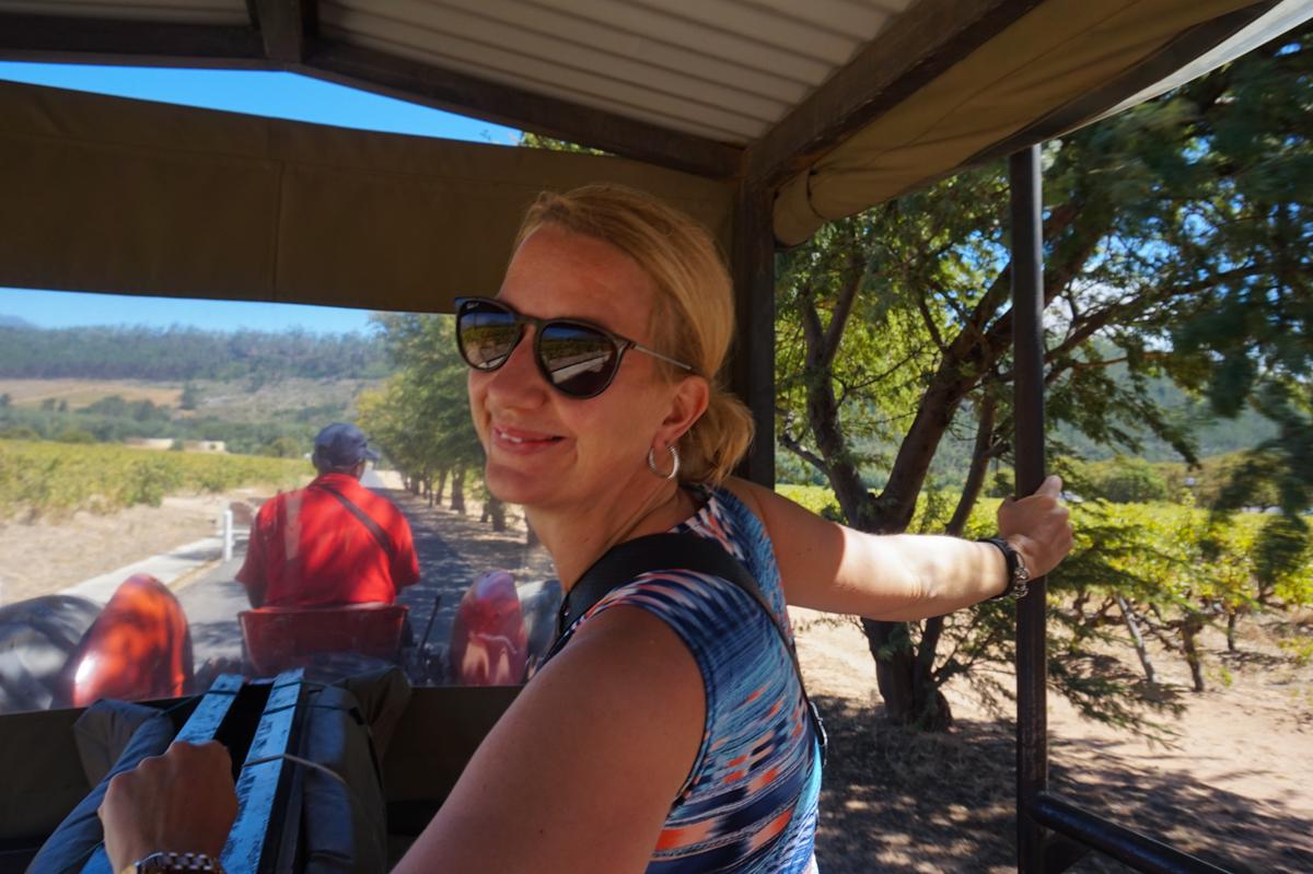 Wine Tram Franschhoek
