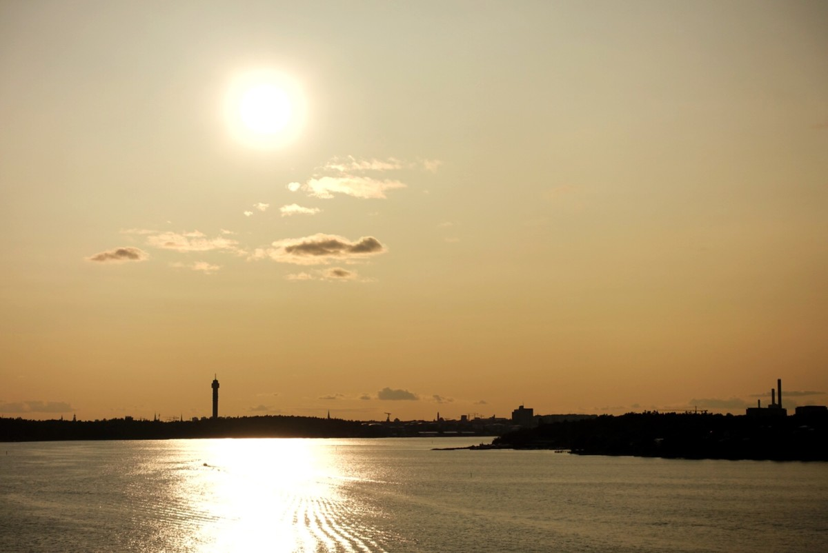Stockholms solnedgång
