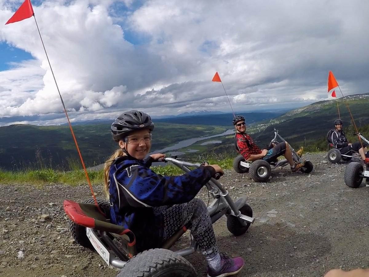 mountain cart i Åre