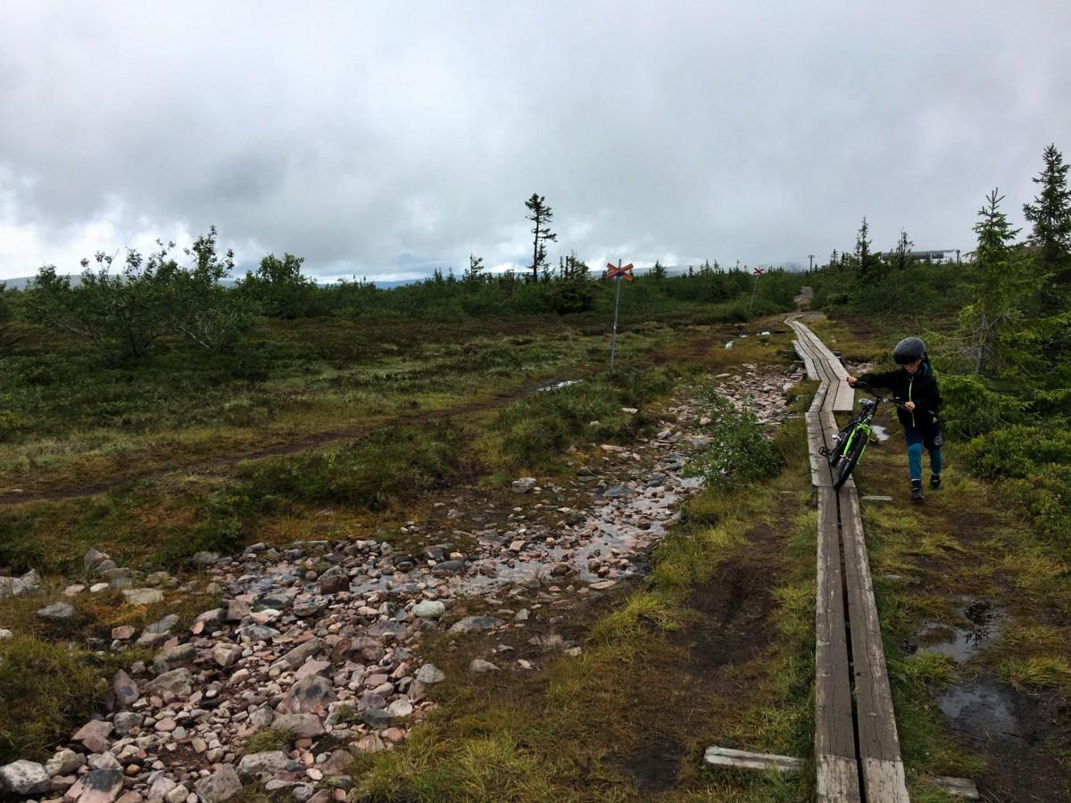 stensjön lindvallen gustavsbacken barn vandring cykling sälen