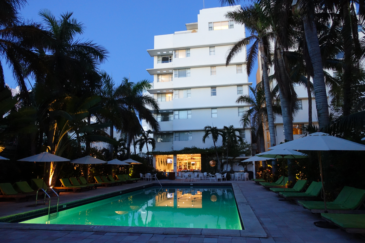 Billigt hotell Miami South beach; South Seas hotel