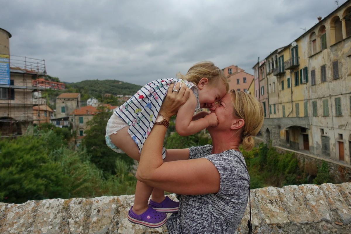resa ensam med barn
