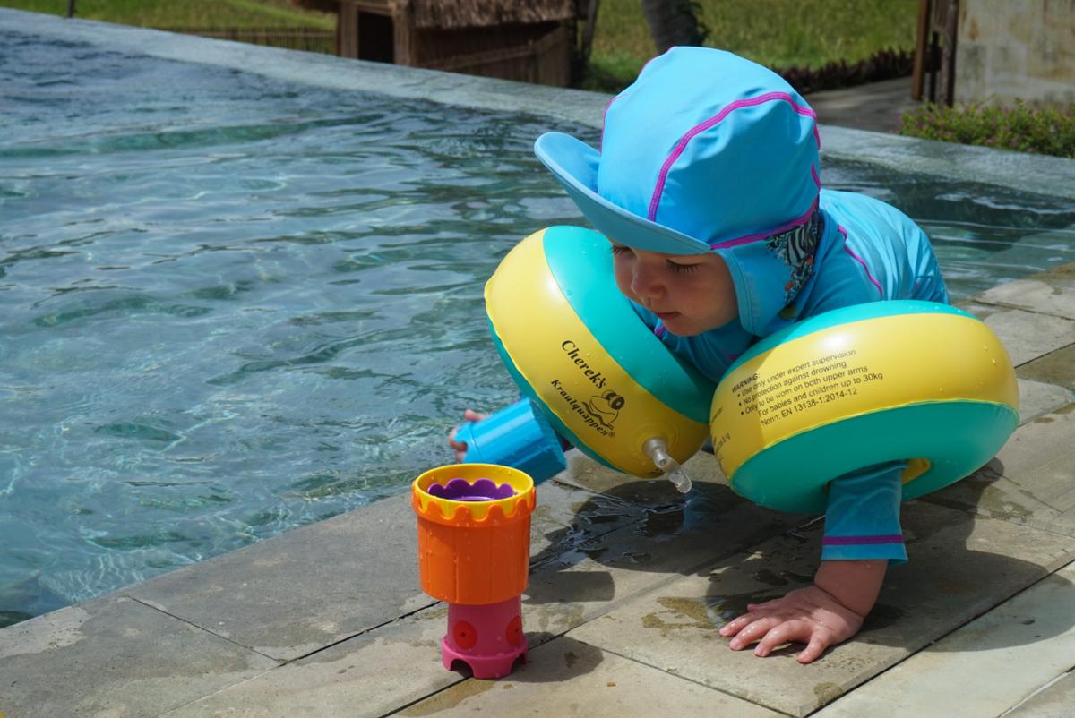 solskydd för barn och bebis