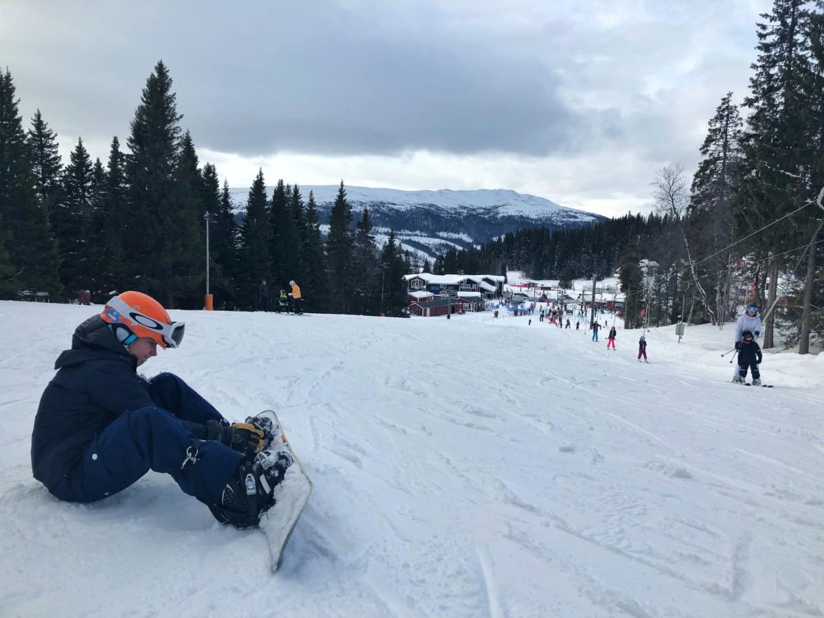 Stella snowboard Åre