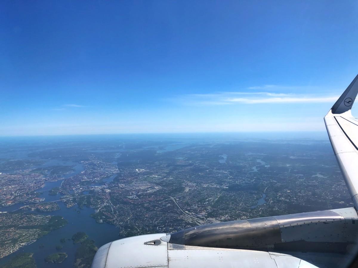 flyg stockholm frankfurt