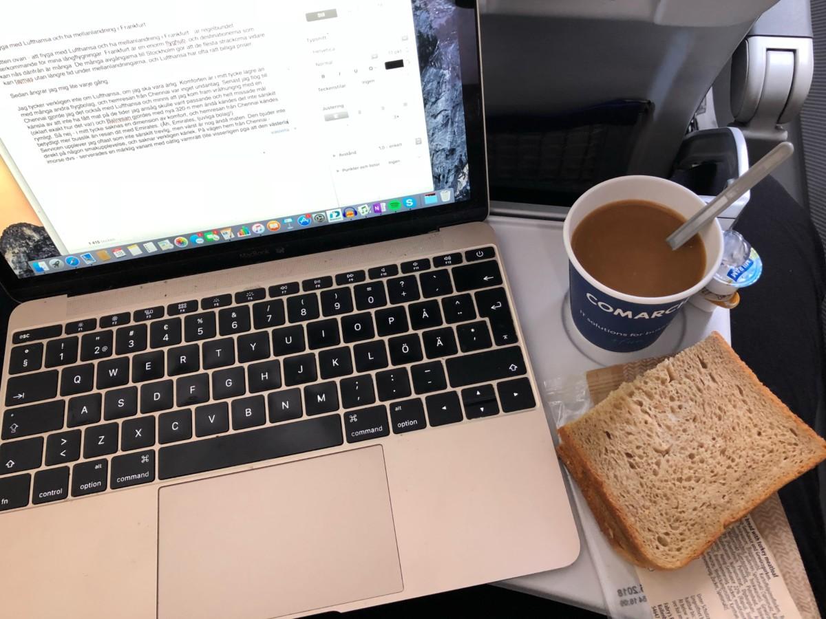 flyga med Lufthansa