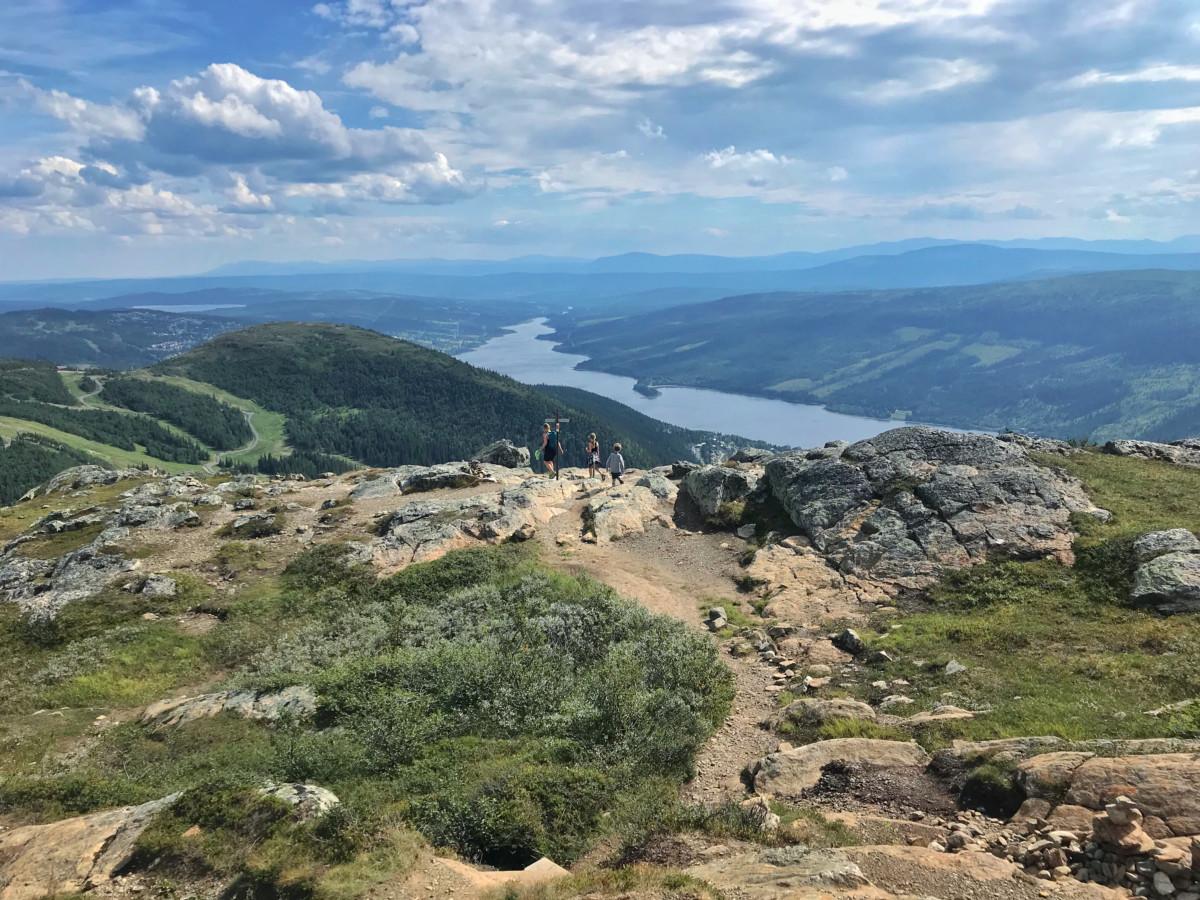 Härliga vandringar i Norrland gå i berg, dal och
