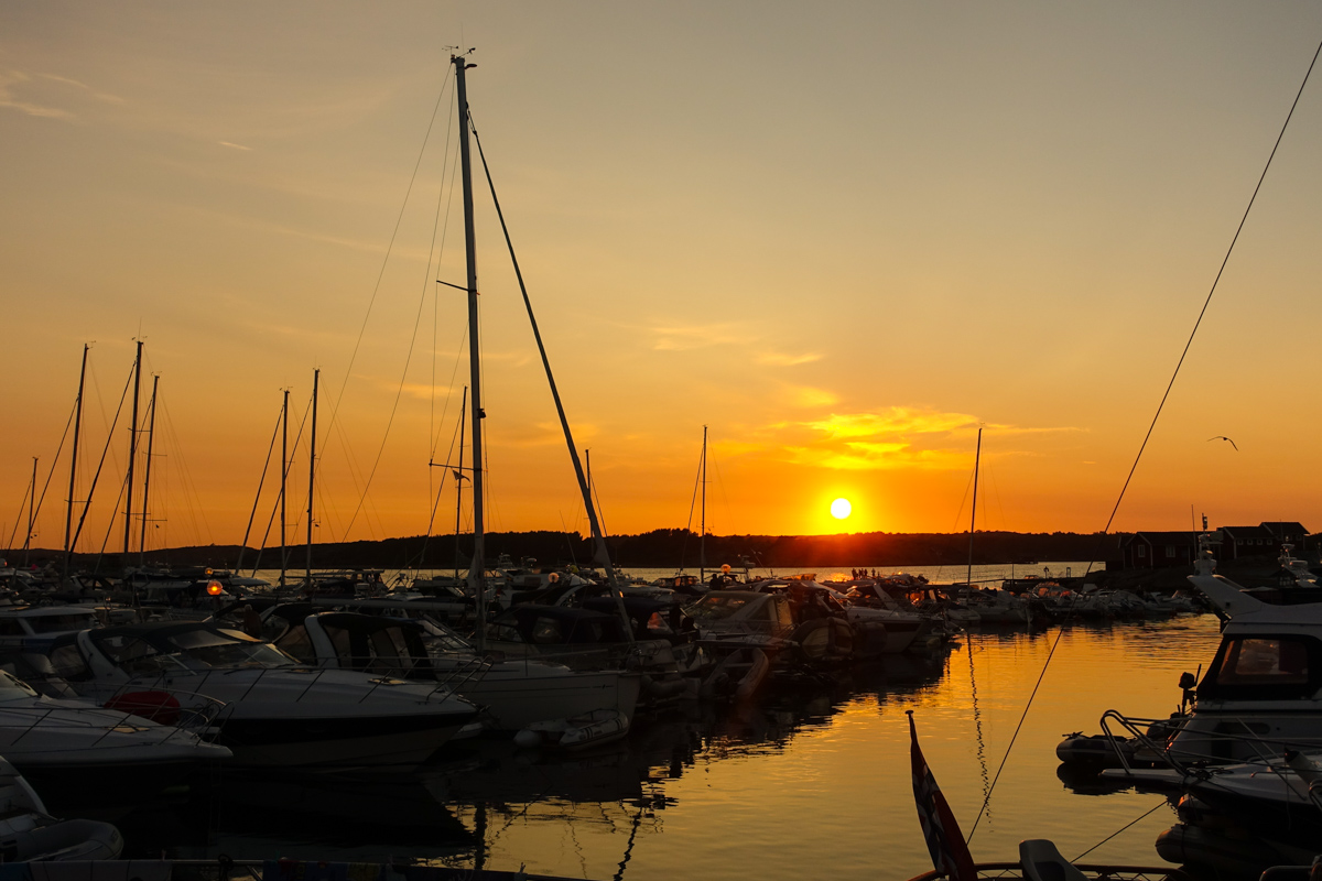 solnedgång-tanumstrand-grebbestad-bohuslän