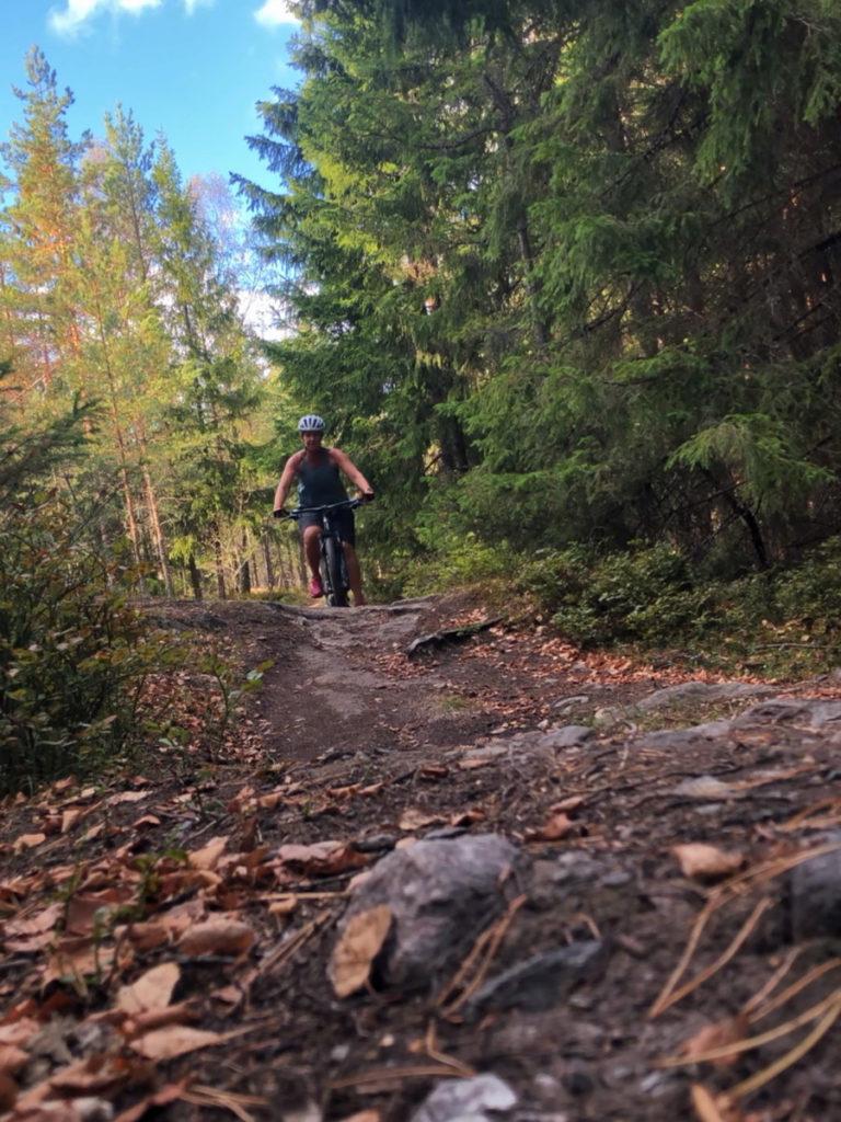 Nackareservatet mountainbike