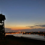 stockholm picknick utsikt solnedgång