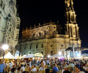 En hälsning med snapshots från Dresden