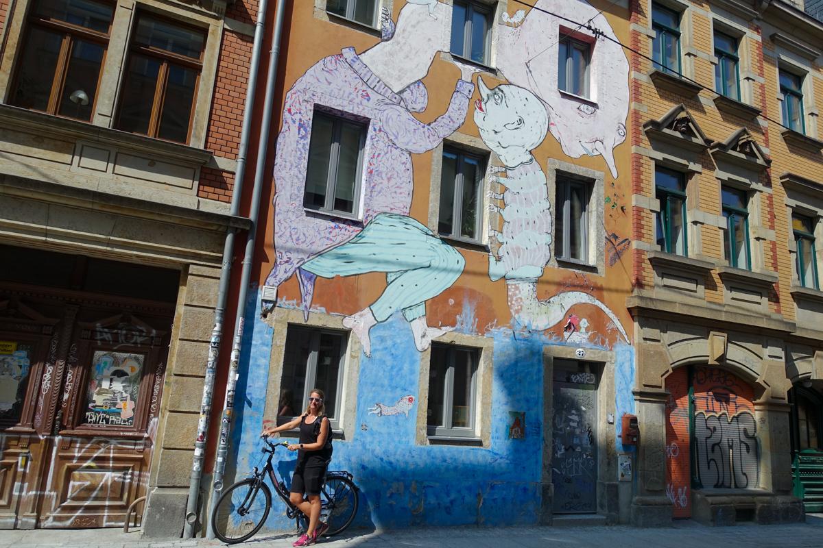 Outer Neustadt Dresden Tyskland