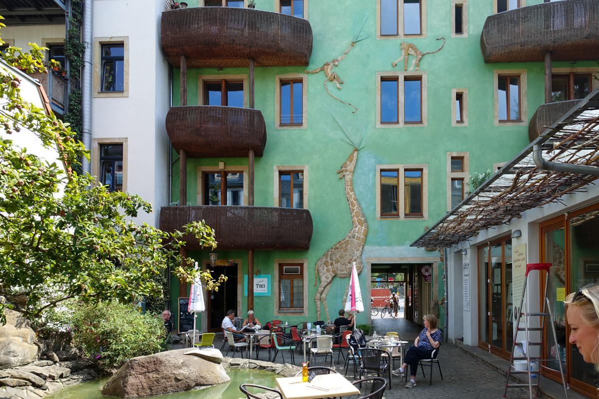 Outer Neustadt Dresden Tyskland-2