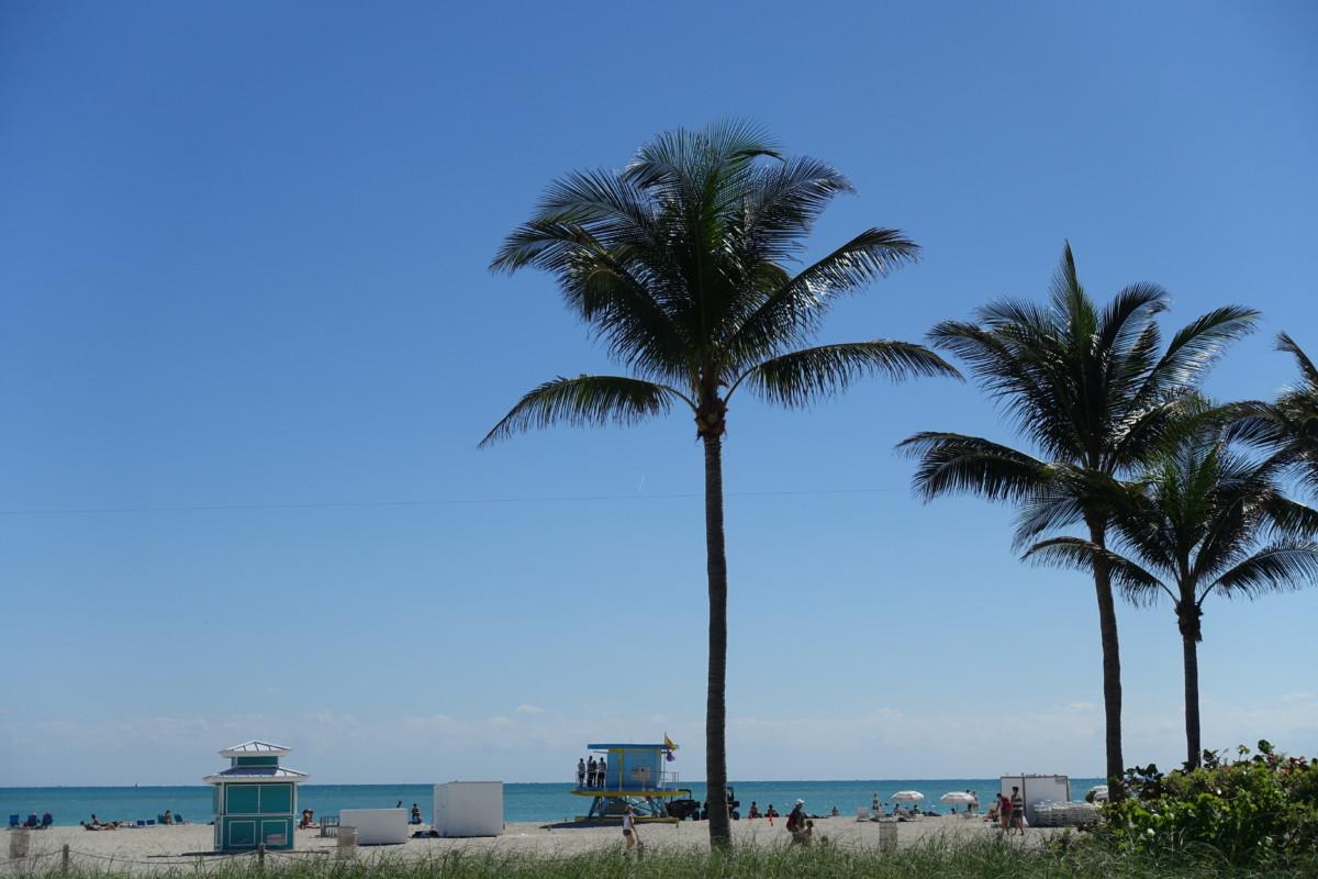 Billigt hotell Miami South beach, South seas hotel