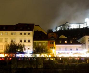 Ljubljana by night – det där med första ögonkast