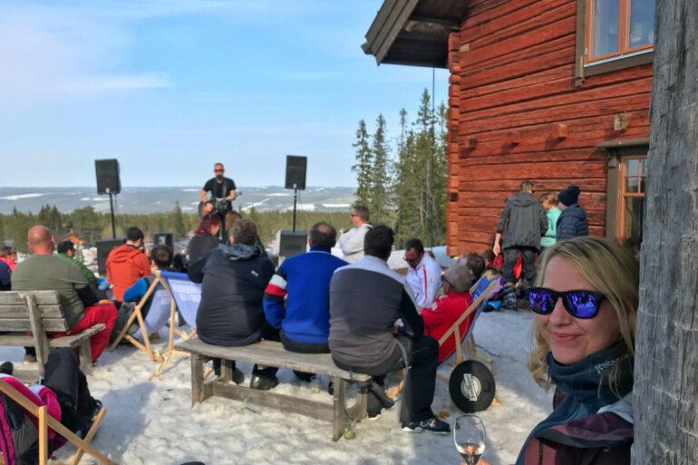 lindvallen sälen påsk 2019 lisa skidåkning
