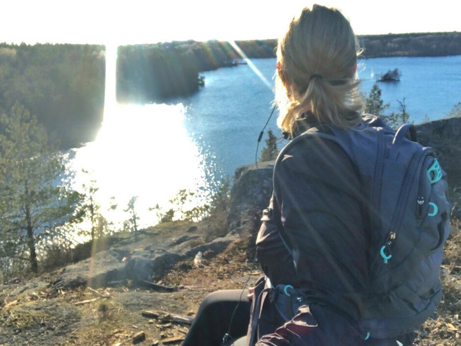 osprey raven mtb ryggsäck dam bikester