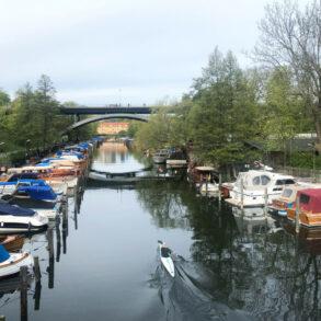 stockholm båtar långholmskanalen