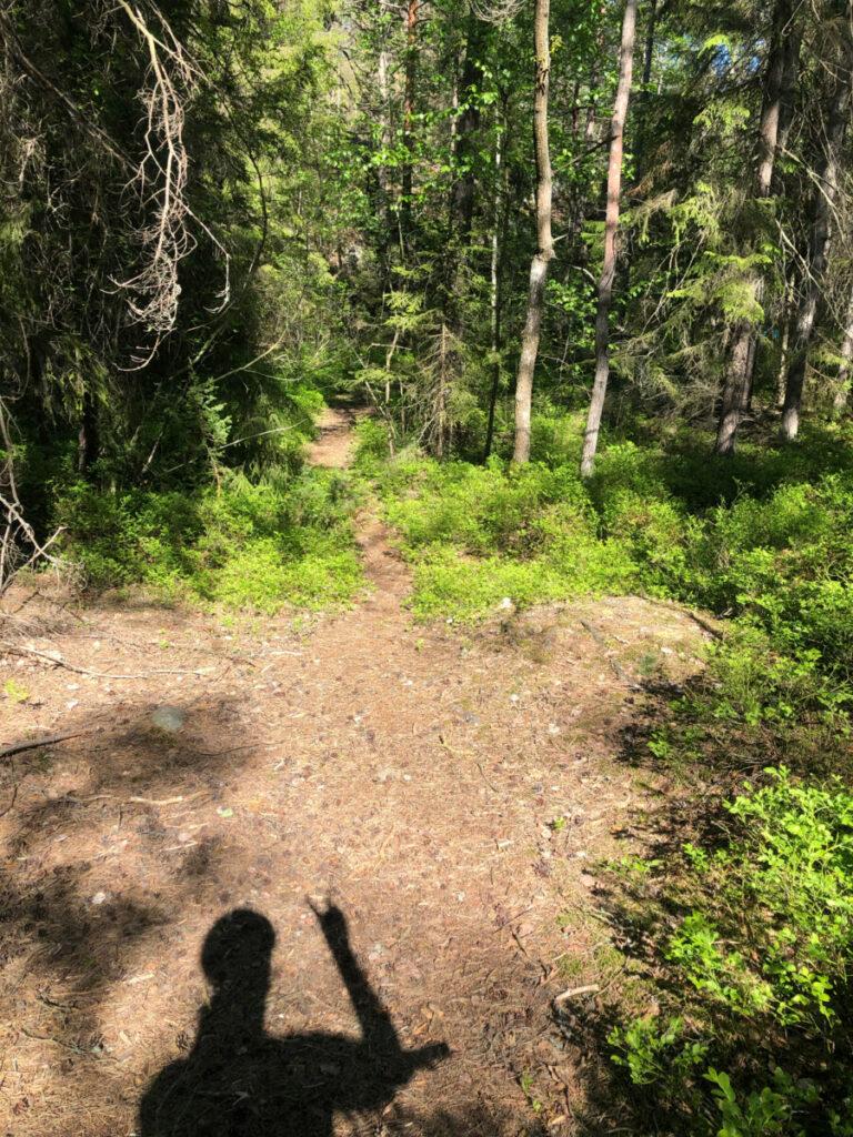 mountainbike björknäs nacka