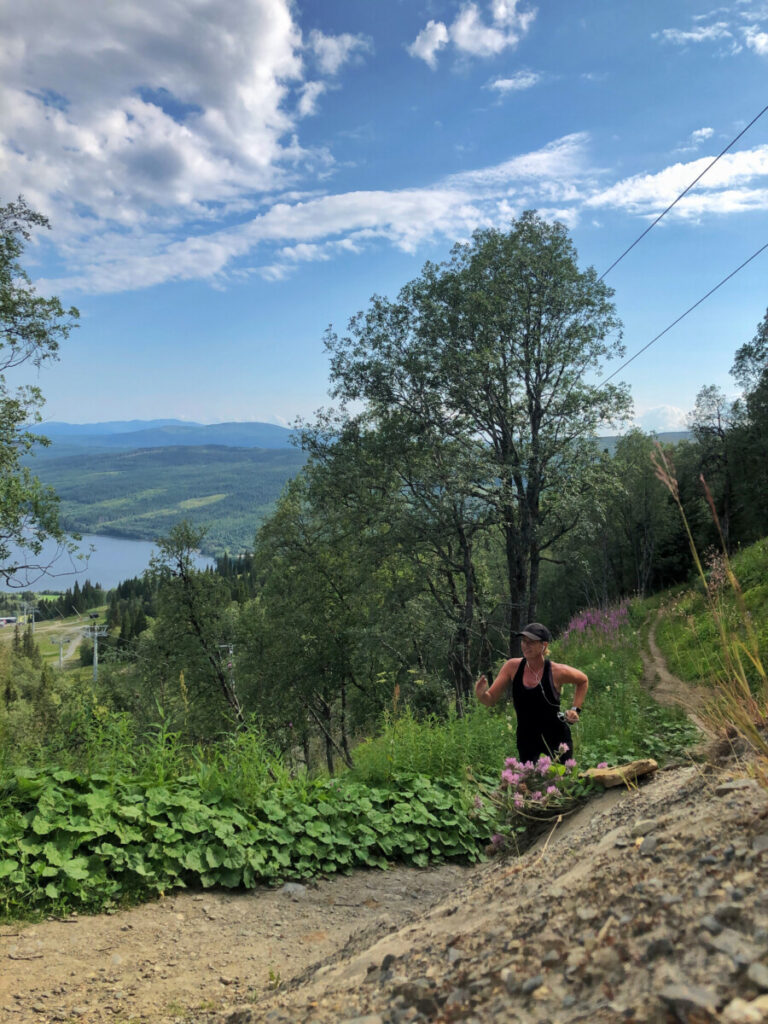 totthummeln runt Åre träning löpning