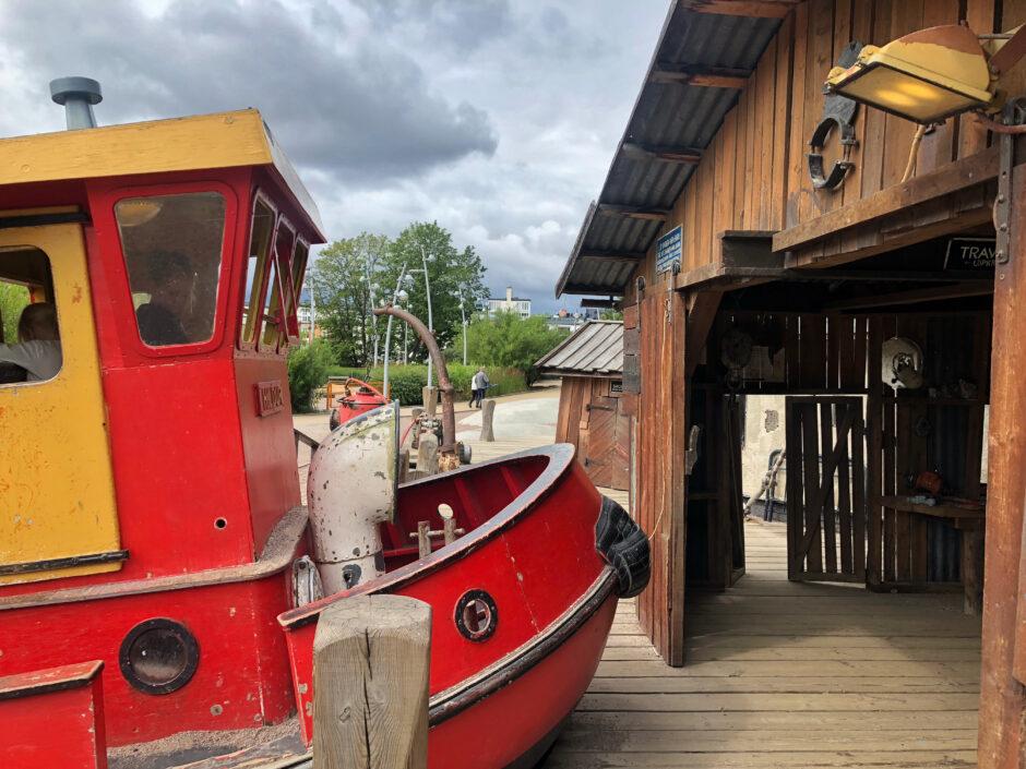 Anders Franzens park lekpark Hammarby sjöstad Henriksdal
