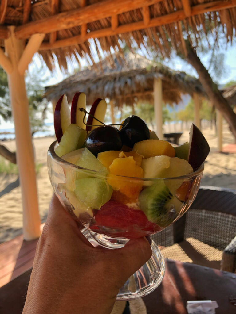 paleochora kreta fruktsallad