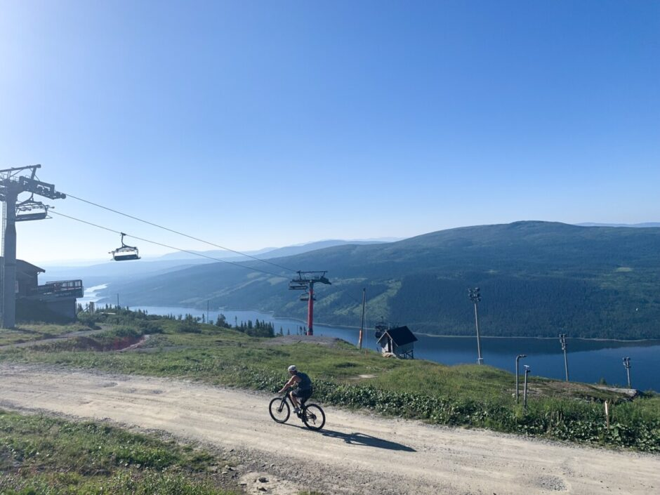cykla Jörgens i Åre mountainbikeled
