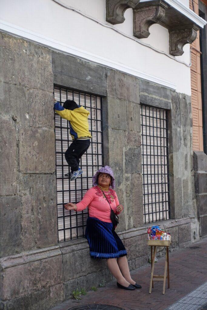 Quito street tour