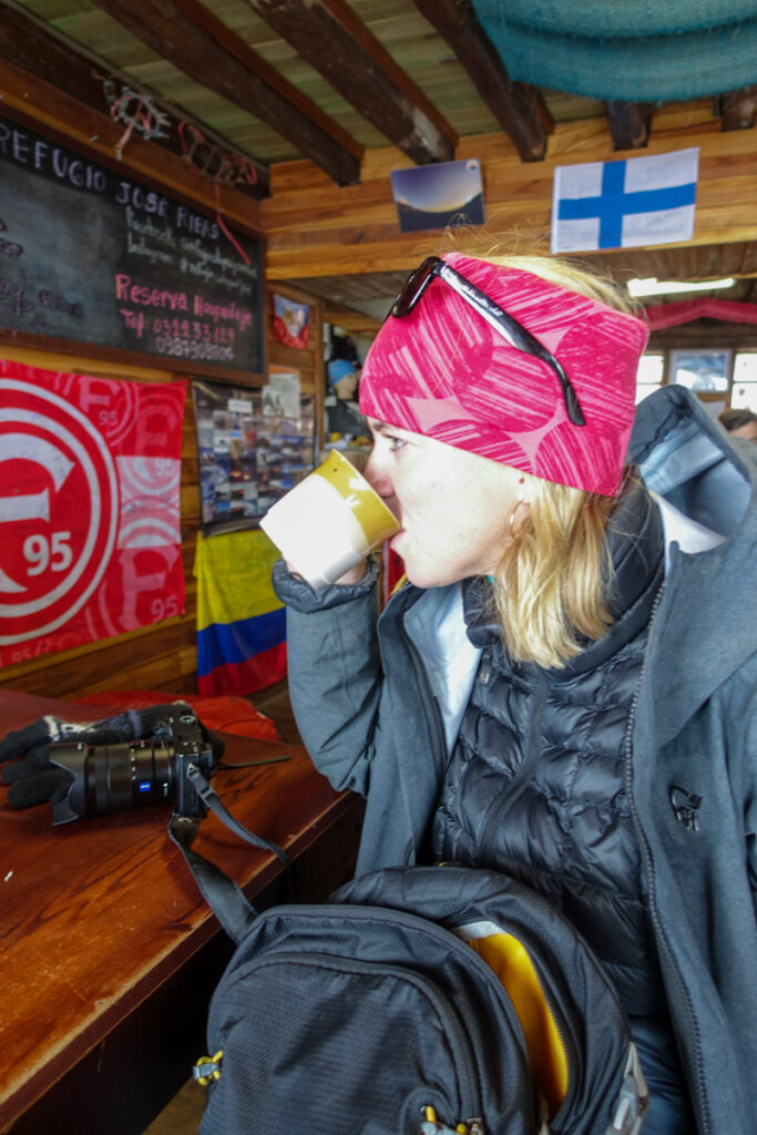 Utflykt Cotopaxi vandring mountainbike Ecuador annika