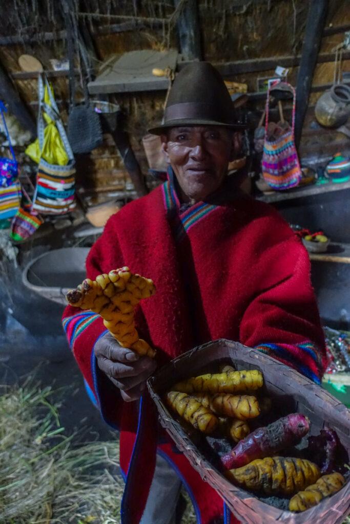 Utflykt till Quilotoa - vandring Ecuador
