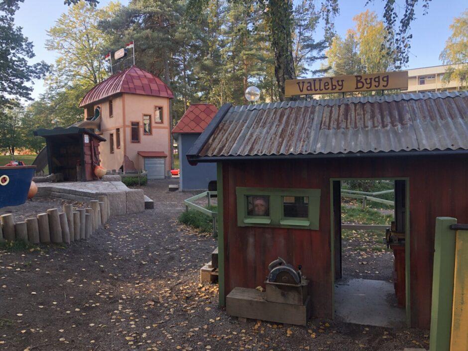 Lassemaja-park; en ny lekpark i Skogås
