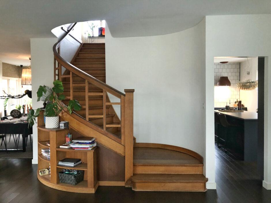 hus villa funkishus trapp kök
