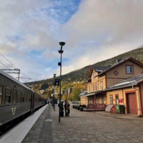 Höst I Åre tåg