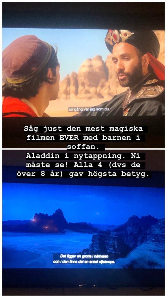 Aladdin 2019 wadi rum