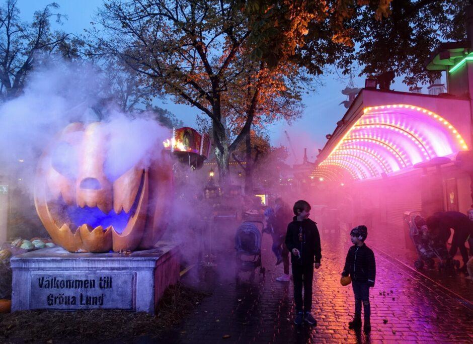 Halloween på Gröna Lund 2019