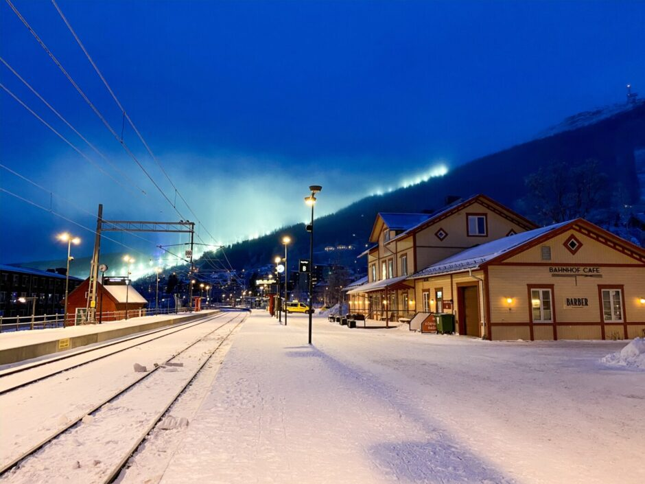 November Åre säsongsöppning tåg