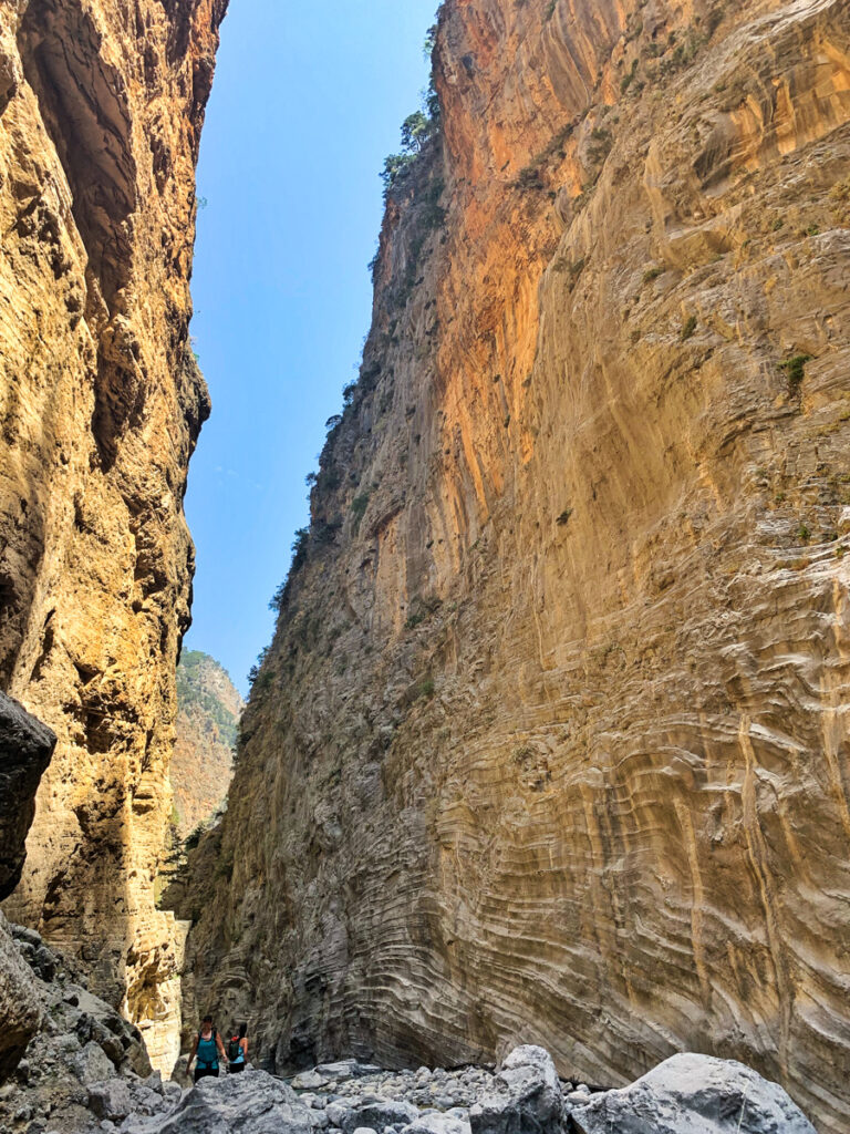 Samariaravinen - en mäktig vandring på Kreta
