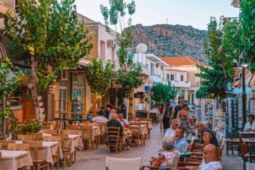 Paleochora - mysig by på Kreta